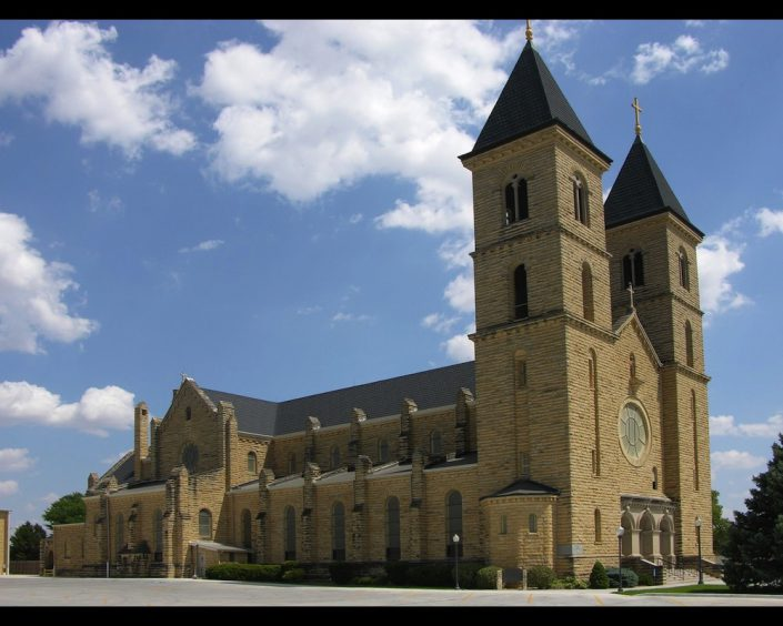 St Fidelis Catholic Church - Victoria, KS